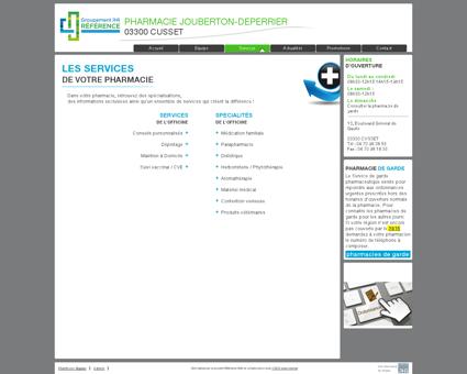 services | pharmacie jouberton-deperrier -...