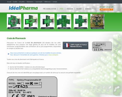 Croix de pharmacie - Croix LED - Croix diodes...
