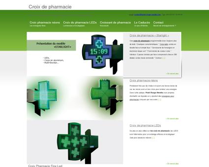 Croix de pharmacie - croix pharmacie -...
