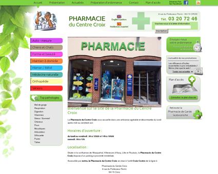 Pharmacie Croix, officine Croix, parapharmacie...