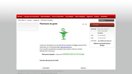 Administration Communale de Courcelles -...