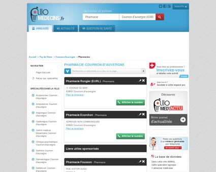Pharmacie Cournon-d'auvergne - Médecin -...