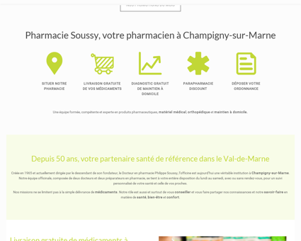Pharmacie Soussy à Champigny-sur-Marne,...