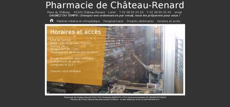 Pharmacie de Château-Renard / Loiret -...