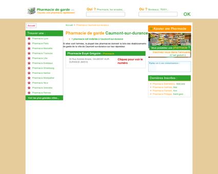 Pharmacie Caumont-sur-durance