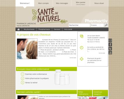 Pharmacie Laronche, 14240 CAUMONT...