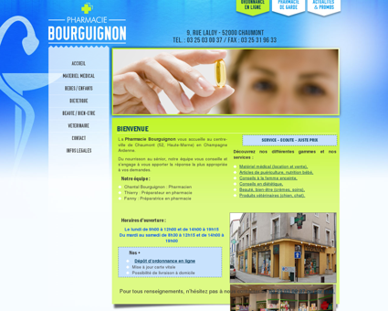 Pharmacie Bourguignon, Pharmacie à...