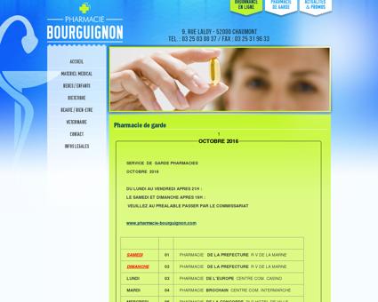 Pharmacie de garde pharmacie à Chaumont,...
