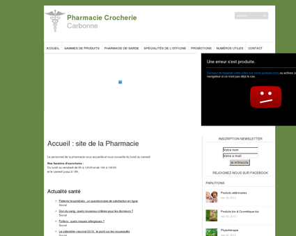 Pharmacie Crocherie | Carbonne