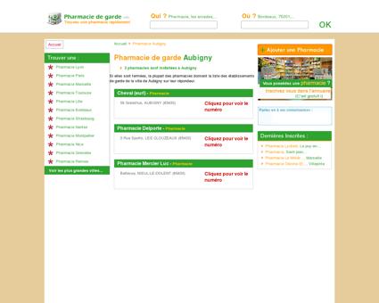 Pharmacie Aubigny