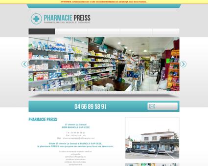 Pharmacie PREISS : Retrouvez tous les...