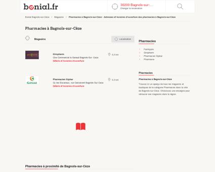 Pharmacies à Bagnols-sur-Cèze - Adresses et...