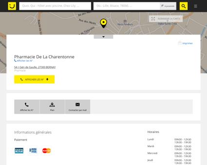 Pharmacie De La Charentonne Bernay...