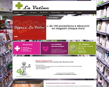 Pharmacie de la Vatine à Mont-Saint Aignan 76
