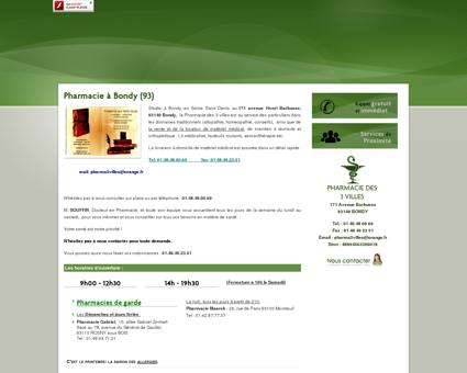 Pharmacie à Bondy (93) - « Nos réalisations /...