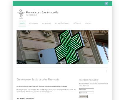 Pharmacie de la Gare à Arnouville