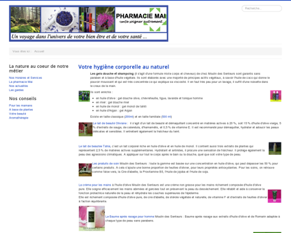 Pharmacie Mai - Nos actualités