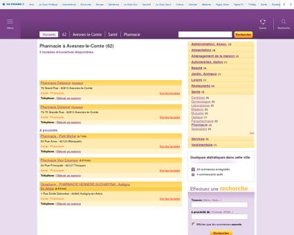Pharmacie à Avesnes-le-Comte | Les-horaires.fr