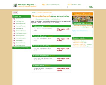 Pharmacie Avesnes-sur-helpe - Trouvez une...