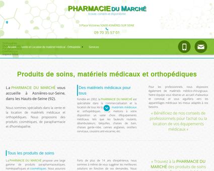 Pharmacie du Marché à Asnières sur Seine