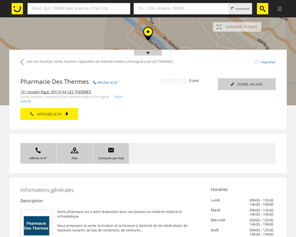 Pharmacie Des Thermes Ax les Thermes...