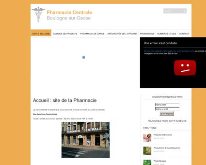 Pharmacie Centrale | Boulogne sur Gesse