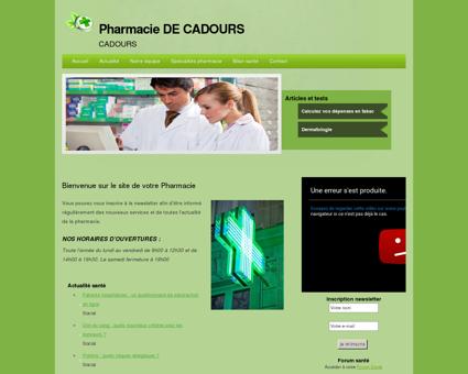 Pharmacie DE CADOURS | CADOURS