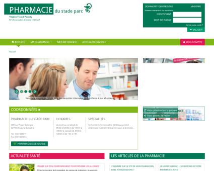 Pharmacie Du Stade Parc, 62700 Bruay-la...