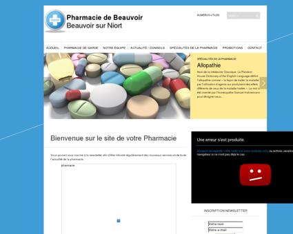 Pharmacie de Beauvoir   Beauvoir sur Niort