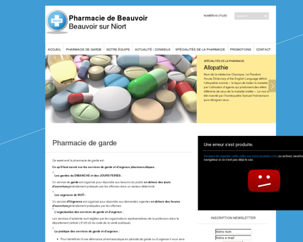 Pharmacie de garde   Pharmacie de Beauvoir