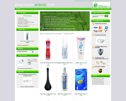 Pharmacie de la ville d' Antony > Pharmacie...