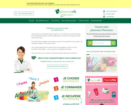 Pharmavie : Pharmacie & Parapharmacie en...