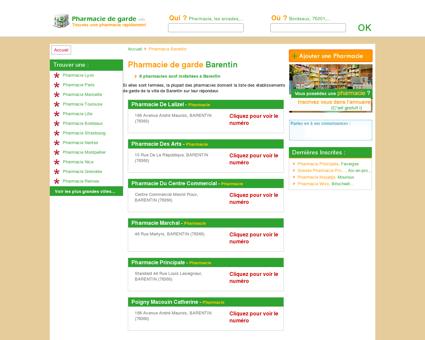 Pharmacie Barentin