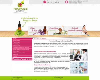 Pharmacie à Bourg-en-Bresse dans l'Ain