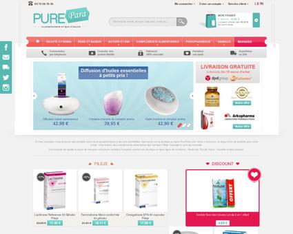 Parapharmacie Parabazar | purepara.com