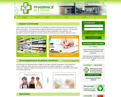 Pharmacie de l'Odon - Bretteville sur Odon -...