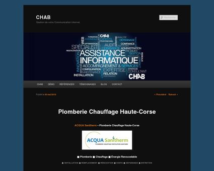 Plomberie Chauffage Haute-Corse - CHAB