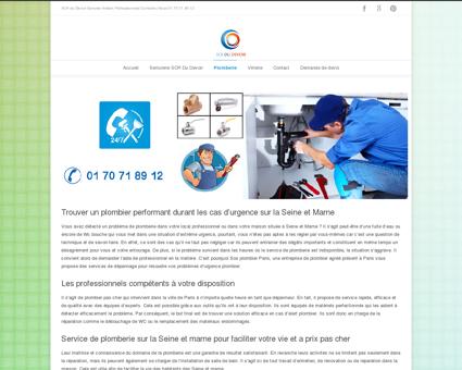 Plombier Seine-et-Marne - SCR DU DEVOIR