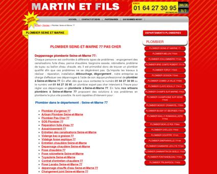 Plombier Seine-et-Marne 77 pas cher -...