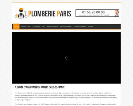 Plombier à Paris et chauffagiste Paris