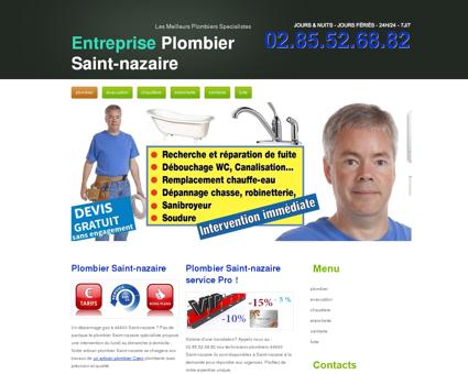 Plombier Saint-nazaire, 44 - Xavier Chauffe Eau