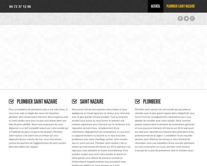 plombier Saint nazaire - 09 .72 .37 .12 .66