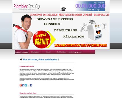 Plombier Saint-priest | Leo société de plomberie