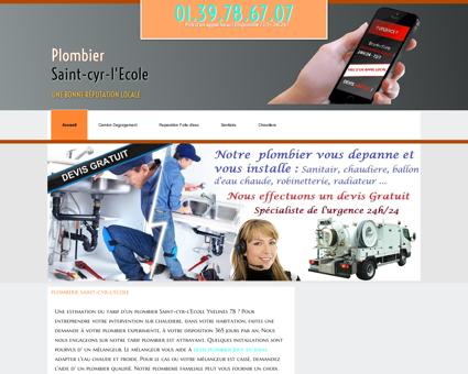 Plombier 78210 Saint-cyr-l'Ecole | N°1 sur...