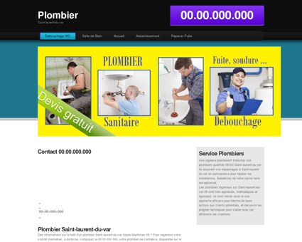 Plombier Saint-laurent-du-var Help societe...