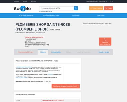 PLOMBERIE SHOP SAINTE-ROSE (SAINTE...
