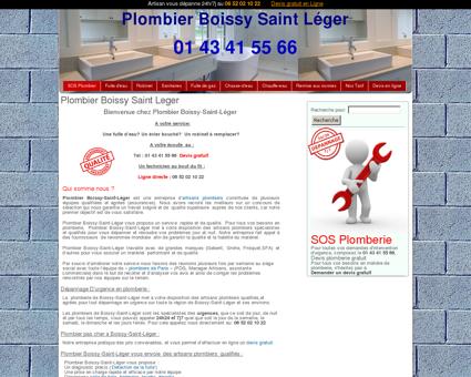 Plombier Boissy Saint Leger