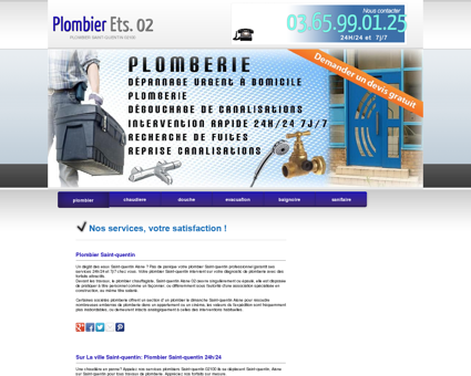 Plombier Saint-quentin | Telephone...