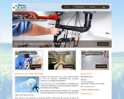 SARL Molines - plomberie pro et installation...