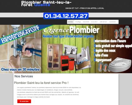 Plombier 95320 Saint-leu-la-foret | Pierre...
